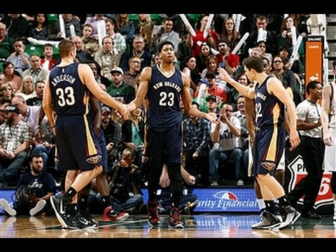 Davis Scores Career-High 43 as Pelicans Beat Jazz