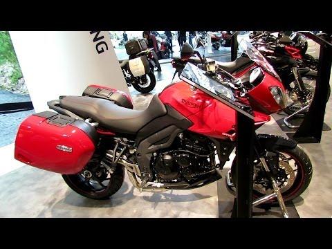 2014 Triumph Tiger 1050 Sport Walkaround - 2013 EICMA Milan Motorcycle Exhibition