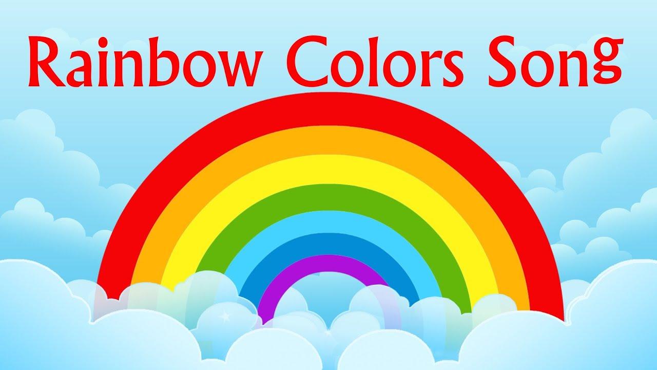nursery rhyme rainbow colors song youtube. Black Bedroom Furniture Sets. Home Design Ideas