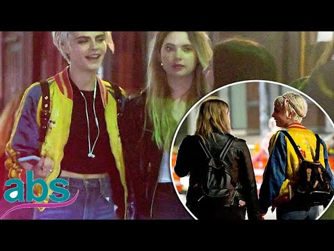 Cara Delevingne holds hands withPretty Little Liars' Ashley Benson  | ABS US  DAILY NEWS