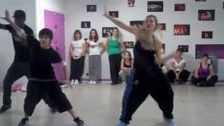 Choreografia Ragga Jam: Laure Courtellemont -  CLASS NO DIFFERENCE TOUR PROJECT BORDEAUX -