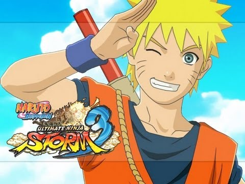 Naruto Goku Outfit Gameplay - Naruto Shippuden Ultimate Ninja Storm 3 (Ultimate Jutsu + Finish)