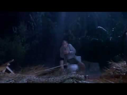 T Rex Eats Lawyer on Toilet- Jurassic Park