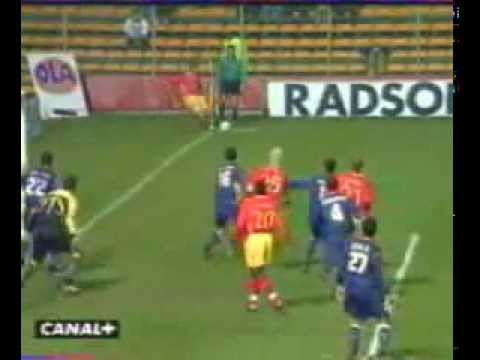 RC Lens - Atletico Madrid (4-2) Match Europa League saison 1999/2000