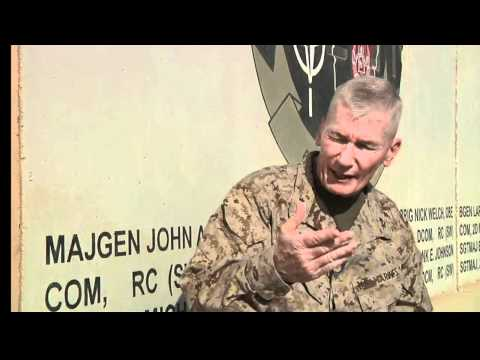 RC(SW) Commanders Discusses Marine Operations in Afghanistan and the Marine Air Ground Task Force