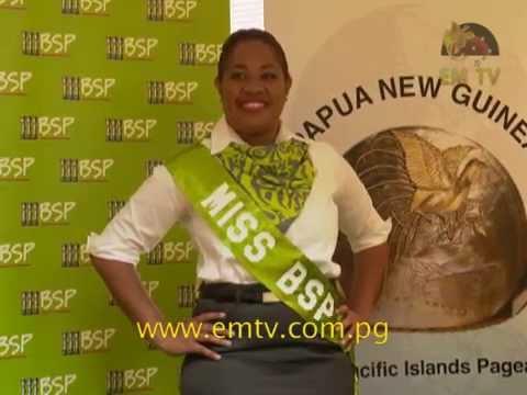 BSP Announces its 2015 Pacific Islands Pageant PNG Contestant