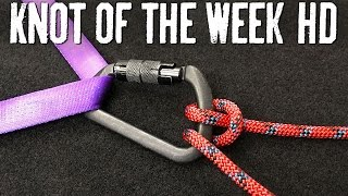 Belay and Control Your Descent with the Munter Hitch - ITS Knot of the Week HD