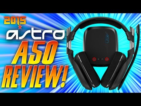 NEW 2015 ASTRO A50 Review and Unboxing - New Astro A50 Review