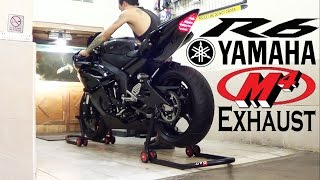 Yamaha R6 2013 Black Edition, Exhaust M4 Street Slayer, SOUND (istimewa)