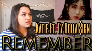"KATIE - ""Remember (feat. Ty Dolla $ign)"" MV Reaction"