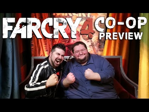AngryJoe & Boogie Play Farcry4! Co-op Impressions