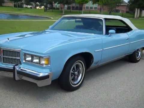 1975 Pontiac Grand Ville Brougham Convertible 455 V 8