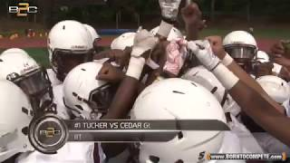 #1 Tucker vs Cedar Grove // 8th Grade