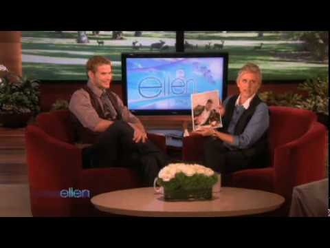 Kellan Lutz Interview on Ellen (2009-11-18) Video