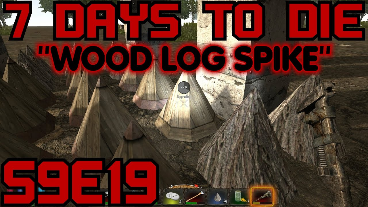 7 days to die alpha 9 3 gameplay let 39 s play s 9 e19 for Wood floor 7 days to die