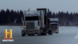 Ice Road Truckers: Lisas Icy Fall (S8, E12) | History