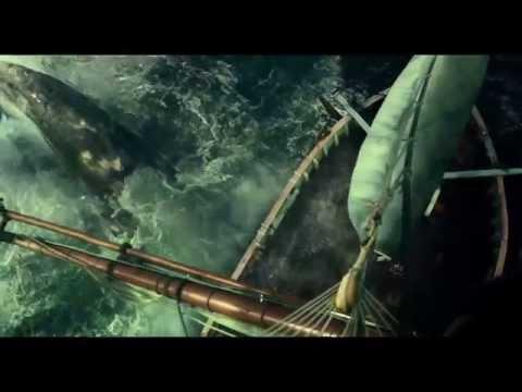 Kamppailu merta vastaan (In the heart of the sea) -elokuvan virallinen traileri 1