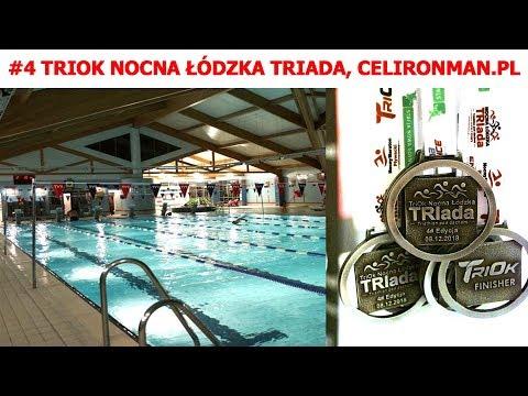 #4 Nocna Łódzka Triada - Pływanie 08.12.2018 Zgierz
