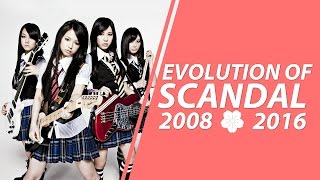 EVOLUTION OF SCANDAL (2008-2016)