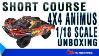 Unboxing 1/18 Scale Short Course 4X4 Animus