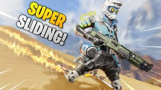 *OP TRICK* SUPER SPEED SLIDING!! - Best Apex Legends Funny Moments and Gameplay Ep 96