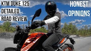 Duke 125 Detailed Road Test Review || Honest Opinions