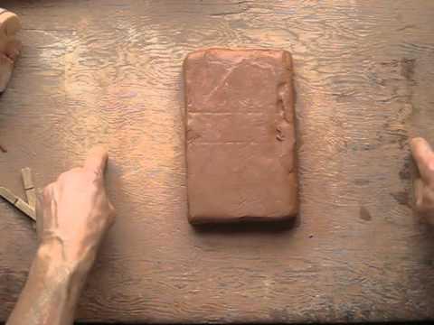 Clases de ceramica 1 cortar placas youtube - Cocinar en sartenes de ceramica ...