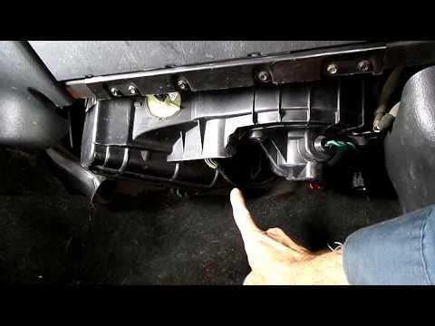 Dakota Durango Blower Motor & Resistor Troubleshooting & Replace