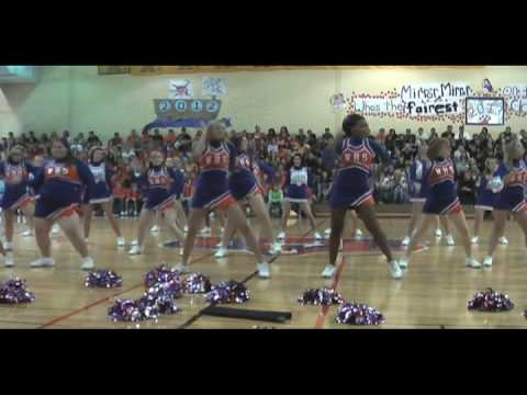 Woodstown High School Cheerleading Homecoming Halftime 2009