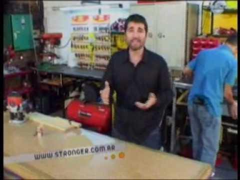 Herramientas para todos TV - Demostracion de Fresas ( Router Bits ) para madera de la marca STRONGER