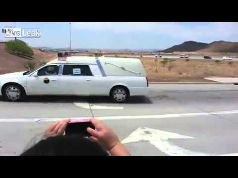 FUNERAL PROCESSION FOR 19 PRESCOTT AZ 'HOTSHOT' FIREFIGHTERS JULY 7 2013