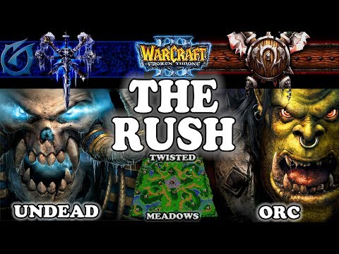 Grubby | Warcraft 3 TFT | 1.29 | UD v ORC on Twisted Meadows - The Rush
