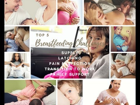 What are the top 5 breastfeeding challenges? 5個餵人奶最困難嘅地方?
