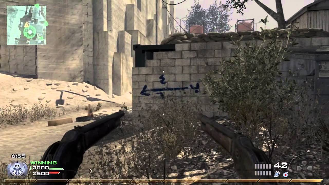 Shotgun Mw3 Patch Patched Model 1887 Guide Mw3