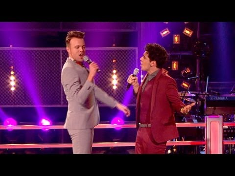 The Voice UK 2013 | Liam Tamne Vs John Pritchard: Battle Performance - Battle Rounds 3 - BBC One