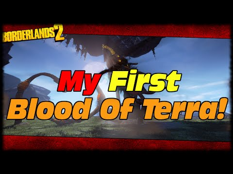Borderlands 2 My First Blood Of Terramorphous After 2 Years Of Playing Drops! Just My Luck 13!