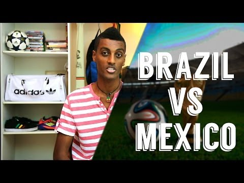 Brazil V Mexico 2014 World Cup - Review