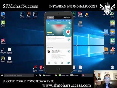 Acerca de Periscope con SFMohar Success