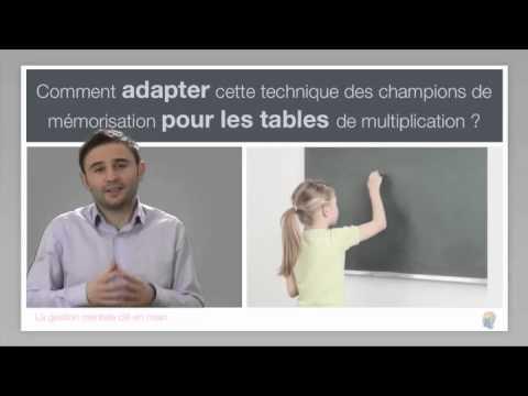 M moriser les tables avec les techniques des champions du - Youtube table de multiplication ...
