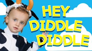 Hey Diddle Diddle | Nursery Rhymes | Two Little Hands Baby