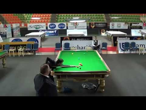 2014 IBSF World 6Reds Final Frame2 - Pankaj vs. Kacper