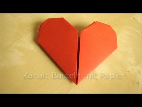 Herz falten anleitung f r origami herz geschenkideen for Selbstgemachte muttertagsgeschenke