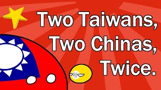 Two Taiwans, Two Chinas, Twice 11.9 MB