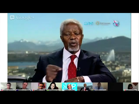 The Kofi Annan Dialogues LIVE: - Young People and Leadership