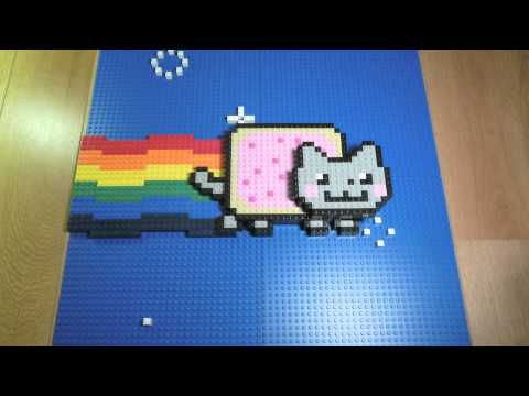 Nyan Cat Lego (videotronix 2011) video