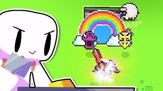 I Created The Ultimate Sword And Used It To Destroy Everything in Forager