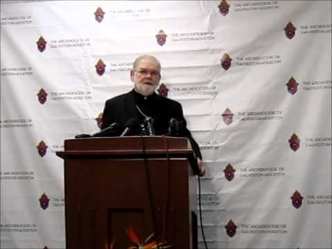Auxiliary Bishop-elect George Sheltz Press Conference