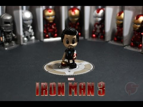 Toy Review: Hot Toys Cosbaby Iron Man 3 Series
