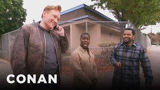Ice Cube Kevin Hart And Conan Share A Lyft Car