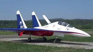 Brand New Sukhoi Su-27 with Vektor Thrust RC Twin-Turbine Model Jet by M.Sannwald